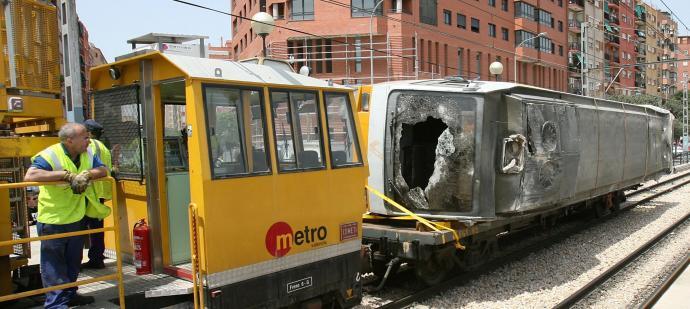 mayor indemnización en accidente de metro